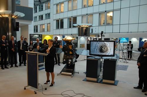 Europlanet in the European Parliament 2016