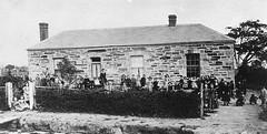 Miss Charlotte Smith's Private School, ca 1875.