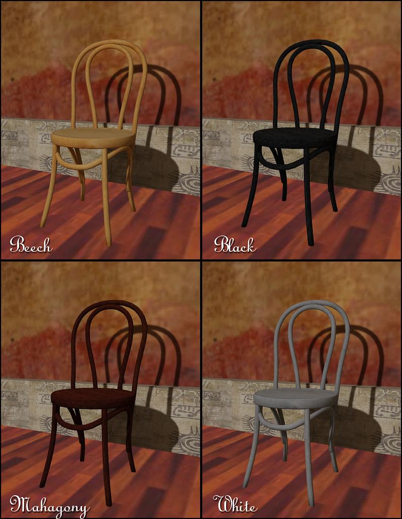 22769 - Food Fair - Classic Bistro Chair