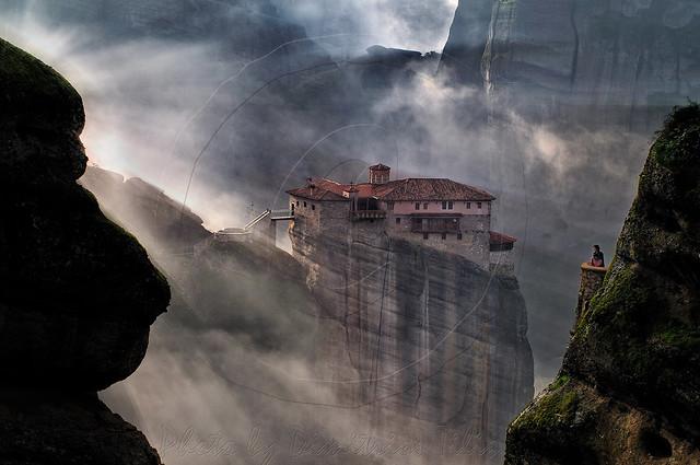 Holy Monastery Roussanou Meteora