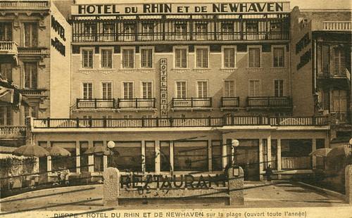 Dieppe, Hôtel du Rhin et de Newhaven | by Simenon.com