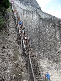 2009 - Guatemala - Tikal - Big Tower Steps | by SeeJulesTravel