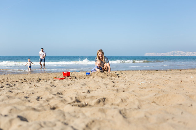 Beach life, Compton Bay, Isle of Wight - IMG_1945