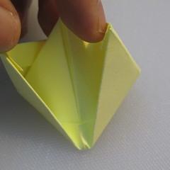 การพับกระดาษเป็นรูปเรือใบ (Origami Boat – 船の折り紙) 011