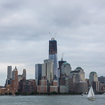 World Trade Center from the Hudson