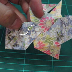 การพับกระดาษเป็นรูปเรขาคณิตทรงลูกบาศก์แบบแยกชิ้นประกอบ (Modular Origami Cube) 021