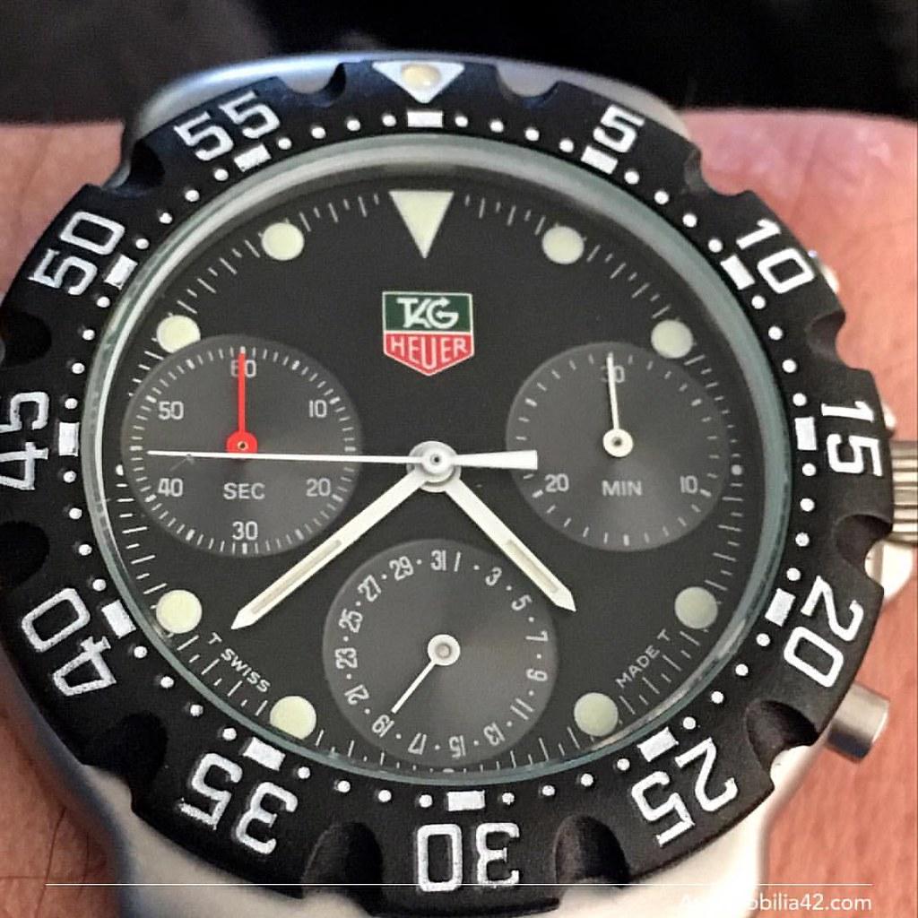 TAG Heuer Formula One F1 Chronograph First generation blac