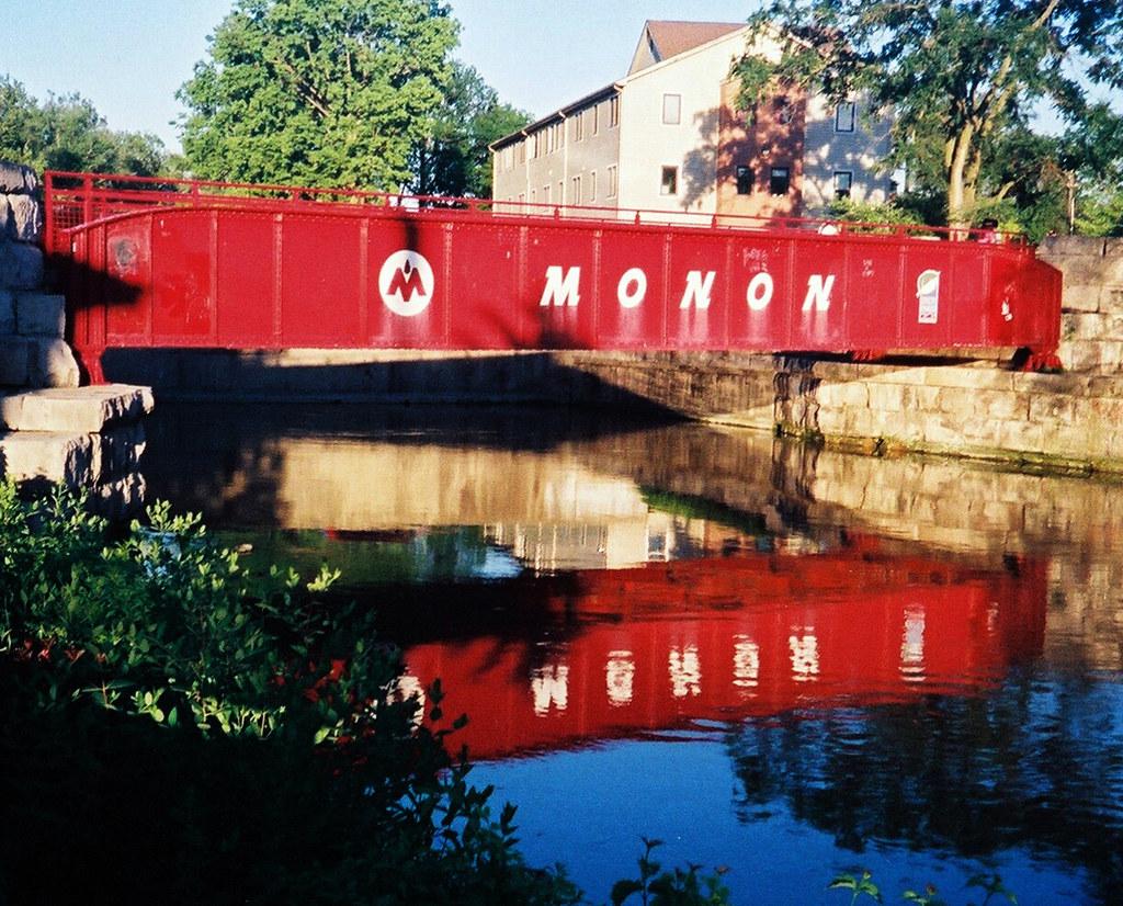 Reflected Monon