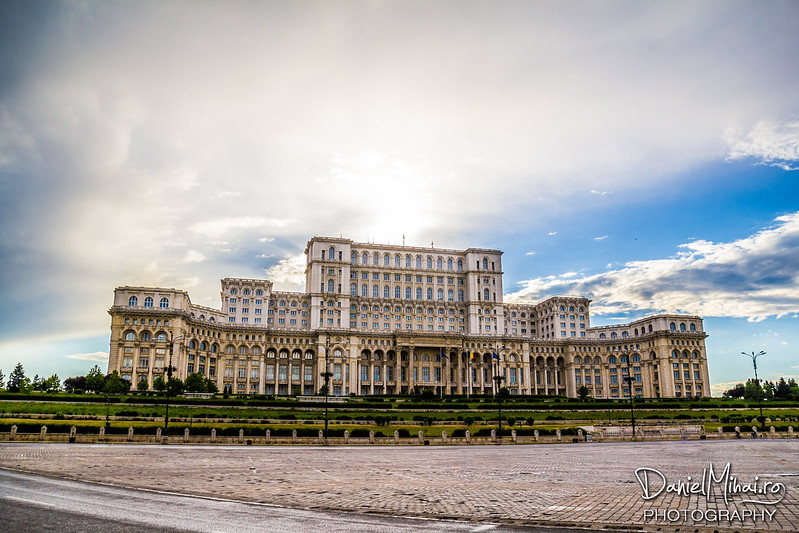 The Palace of Parliament, Bucharest, 2013 by Daniel Mihai