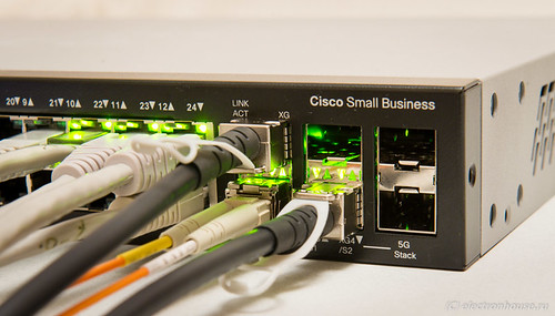 small 1G - 10G ethernet switch Cisco SG500X
