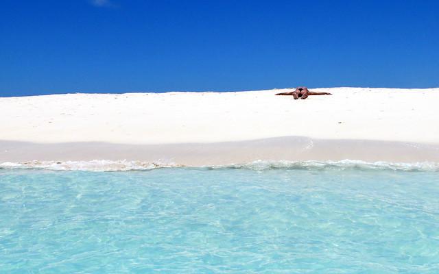 ... Summer in a solitary beach...
