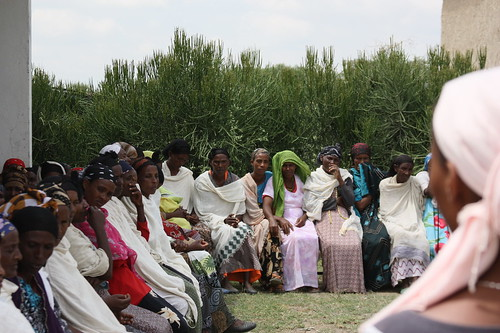 A Group of Women Meets at a Health Post to Discuss Issues of Common Concern | by usaid.ethiopia