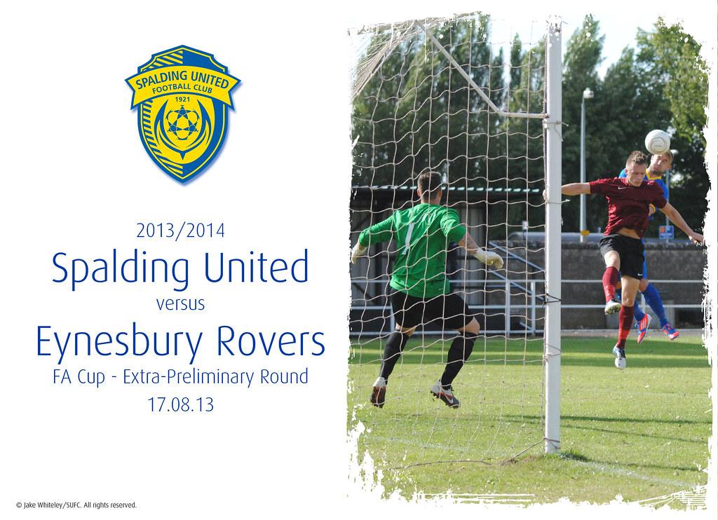 2013/14: Spalding United v Eynesbury Rovers (17.08.13)
