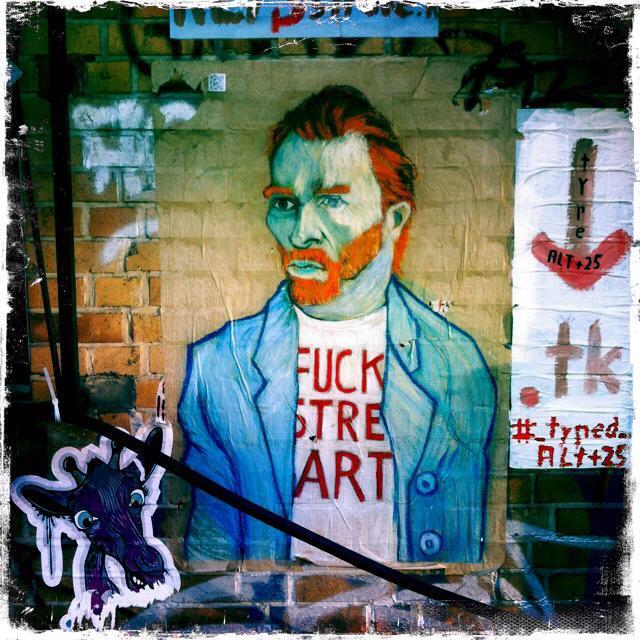 fuck street art