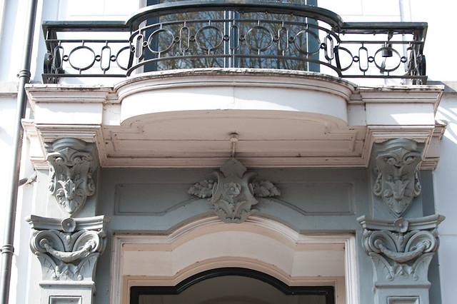 Geveldetail woonhuis George Beens. Foto: Anna van Kooij 2012