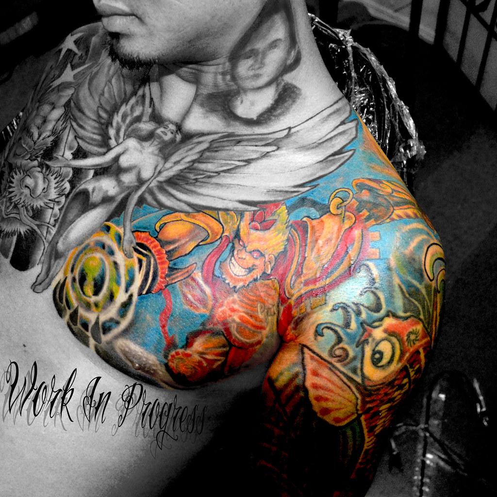 Monkey King Tattoo Monkey King Tasi Melah Flickr