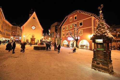 Christmas: Ortisei, Italy | by mikebslone