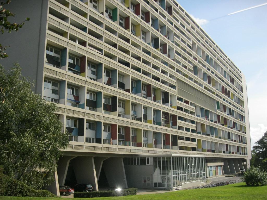 Le Corbusier Unite D Habitation 1956/58 berlin-w. interbau-unité d'habitation type berlin