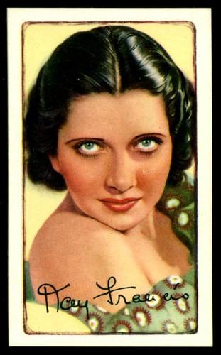 Cigarette Card - Actress, Kay Francis