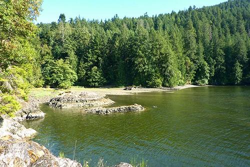 MacKenzie Bight, Gowlland Tod Park, Saanich Inlet, Highlands, Victoria, Vancouver Island, British Columbia, Canada