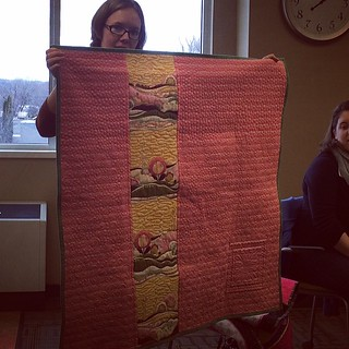 Wooh, another talented longarm quilter in the house! #boisemqg