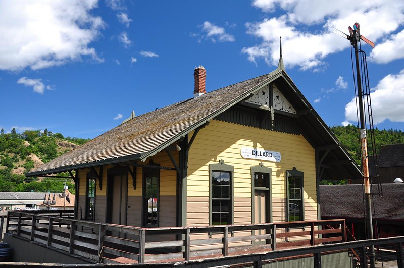 Railroad depot