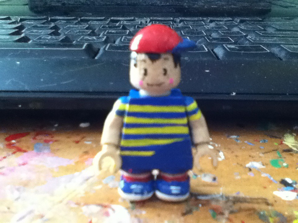 LEGO Custom Ninten (Mother/Earthbound Zero/Earthbound Begi