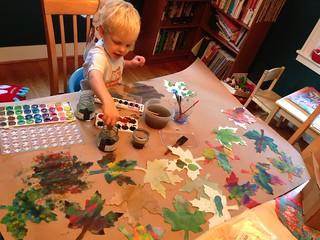 Painting leaves | by hsarik