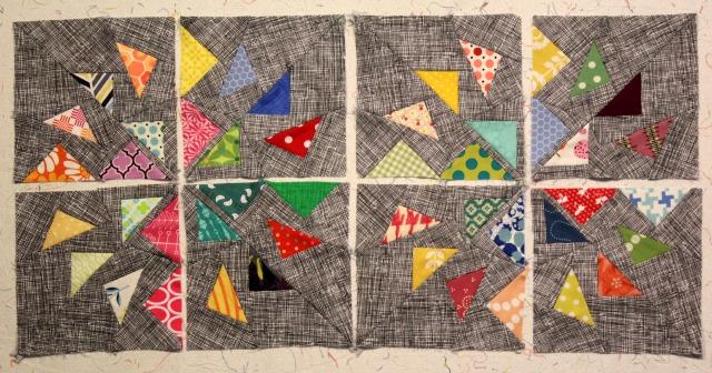Windmill block designed by Lynne Goldsworthy