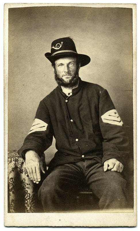 A Sergeant in the Pennsylvania Militia Infantry