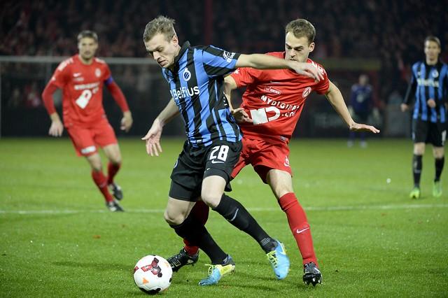 KV Kortrijk  - Club Brugge (4 december 2013)
