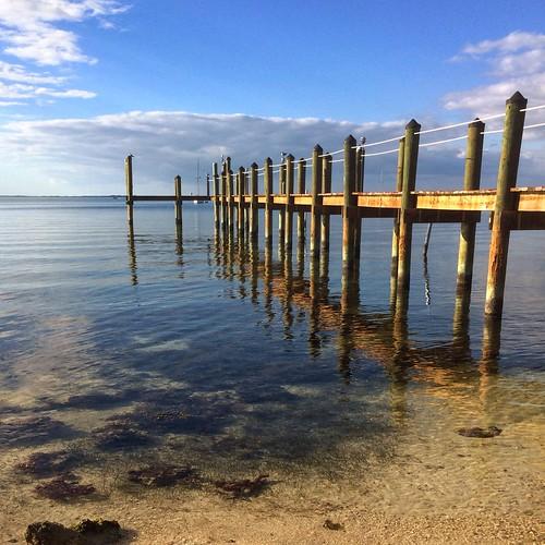 ocean keys pier florida baysidegrille uploaded:by=flickrmobile flickriosapp:filter=nofilter greatshotdude