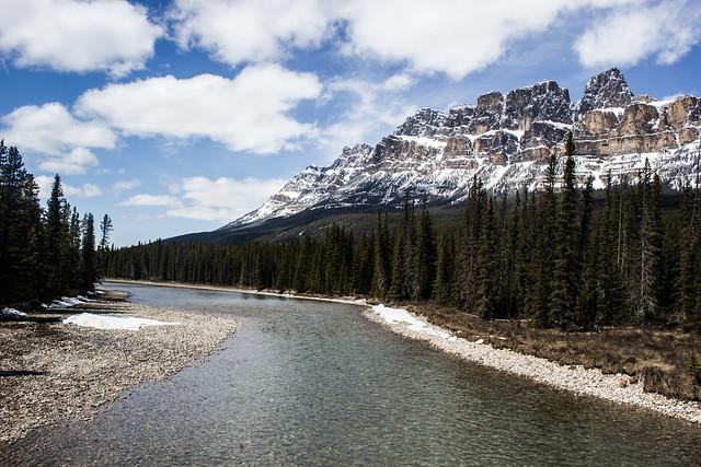 Castle Mountain, Banff.