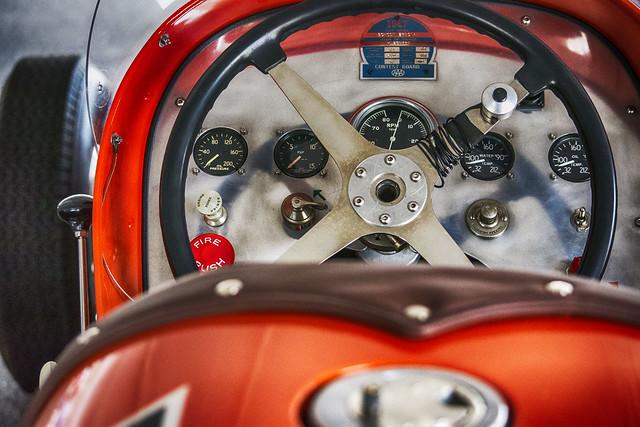 Cockpit--Vintage Race Car