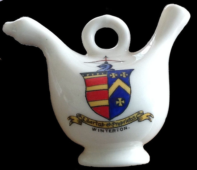 George Stovin's Crest on Winterton Ceramic