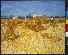 2013. június 24. 17:26 - Vincent Van Gogh Dutch, 1853-1890 Corn Harvest in Provence, June 1888 oil on canvas, 51 X 60 cm. The Israel Museum, Jerusalem Gift of Yad Hanadiv, Jerusalem, from the collection of Miriam Alexandrine de Rothschild, daughter of the first Baron Edmond de Rothschild B66.1039 Photo © The Israel Museum, Jerusalem by Avshalom Avital