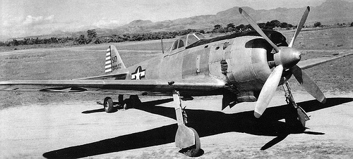 Capturado KI-84 Hayate