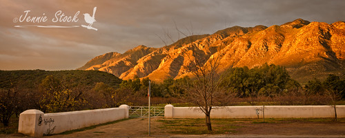 mountains sunrise southafrica montagu langeberg