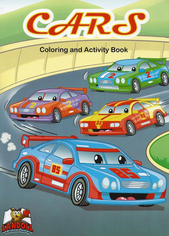 "Landoll Publishing Company :: ""CARS"" Coloring & Activity Book (( 2013 )) by tOkKa"