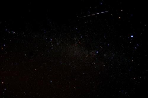 Perseid meteor. 2013 August 12, 23:39 UTC | by SlartyB52