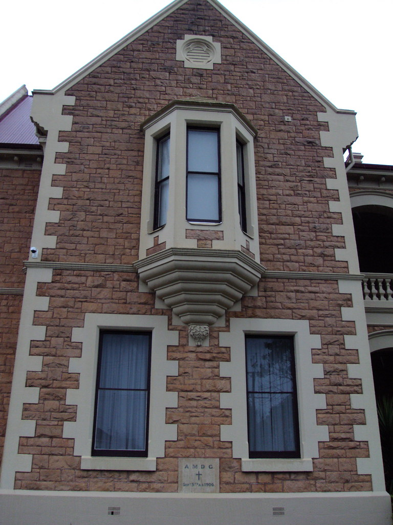 Oriel window at the Catholic  Convent in Mt Gambier built in 1907.