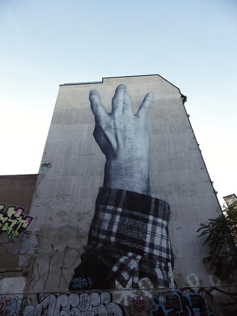 hand mural