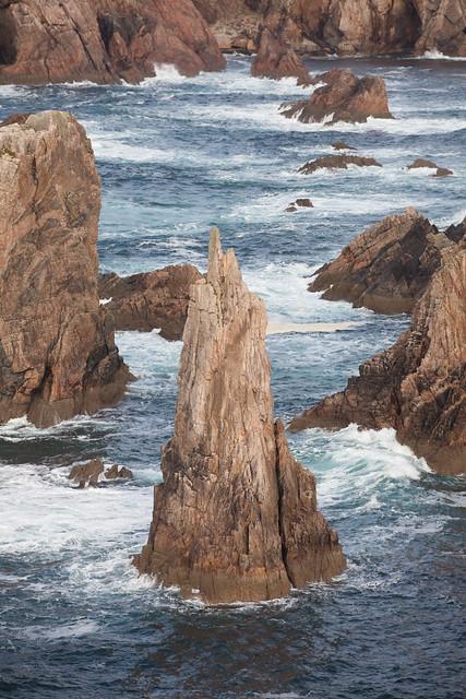 Sea stacks at Mangersta