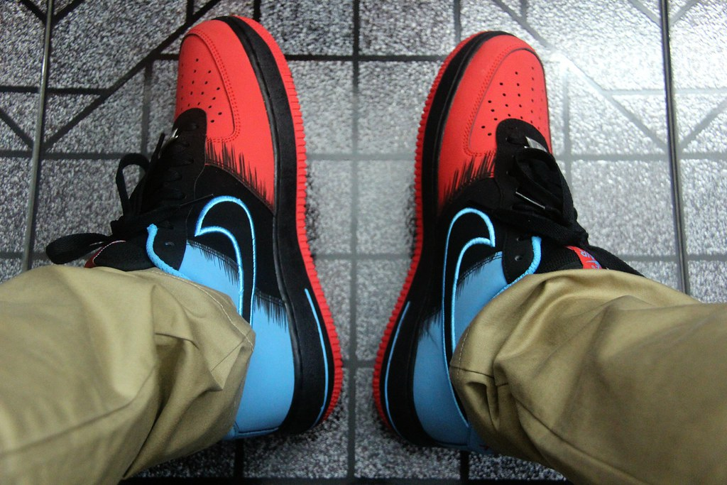 "4a6ee6b813e9 Nike Air Force 1 Low ""Spiderman"""
