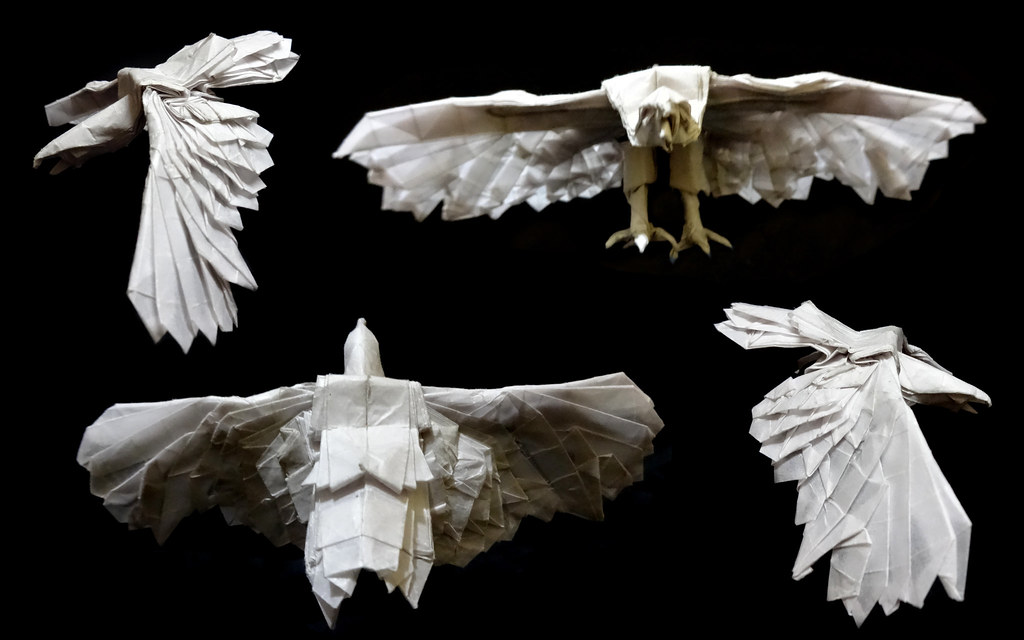 Eagle (Nguyen Hung Cuong) | Origami Eagle Designed by Nguyen… | Flickr | 640x1024