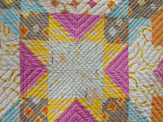 Cosmic Burst Quilted Detail