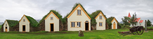 Icelandic turf houses | by Michael Ransburg