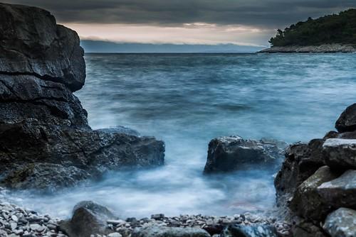 light landscape 50mm dawn nikon tripod croatia mali losinj longexpo 14g