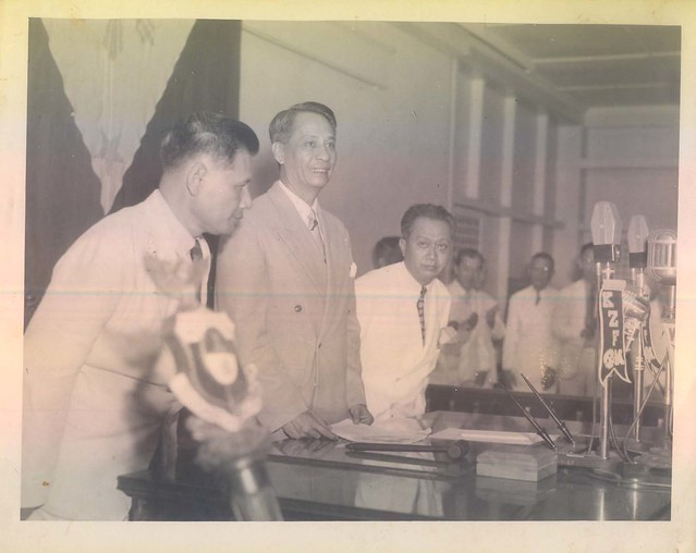 First State of the Nation Address of President Manuel Roxas