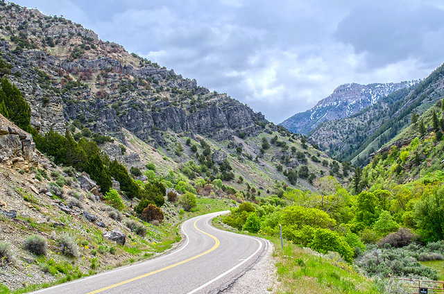 Early May in Blacksmith Fork Canyon